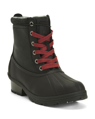 Waterproof Leather Insulated Cold Weather Boots