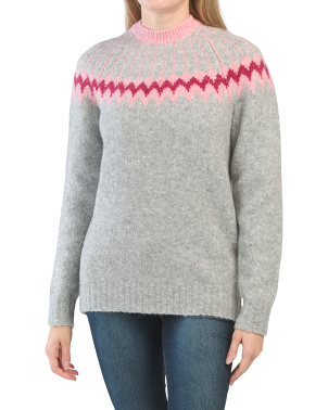 Merino Wool Fairisle Sweater