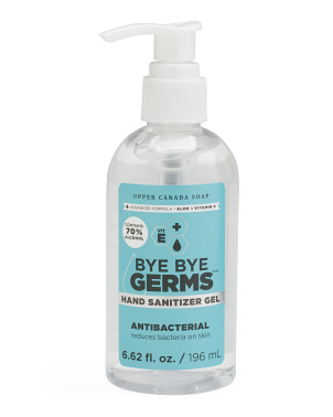 6.62oz Travel Gel Hand Sanitizer