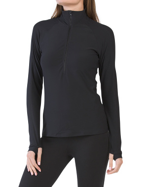 Transform Half Zip Front Top
