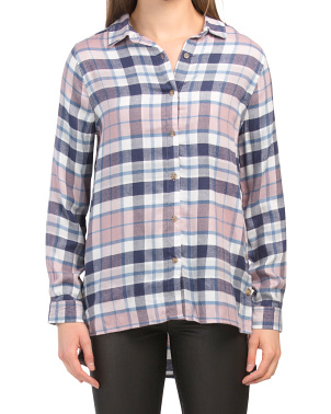 Brushed Cozy Flannel Shirt