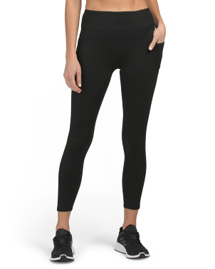 Ladies Basic Double Pocket Leggings