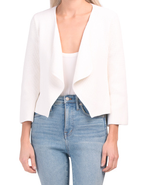 Organic Cotton V-neck Cardigan