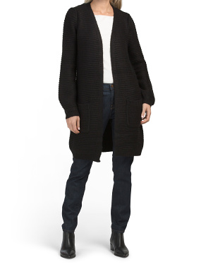 Long Sleeve Duster Cardigan
