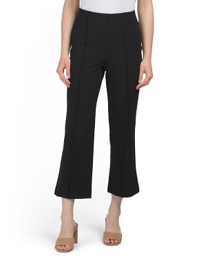 Mini Bootcut Seamed Pants