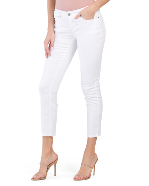 Petite Organic Cotton Slim Ankle System Jeans