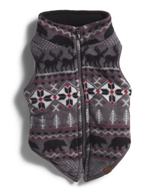 Microfleece Pet Vest