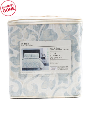 Nantucket Printed Duvet Set