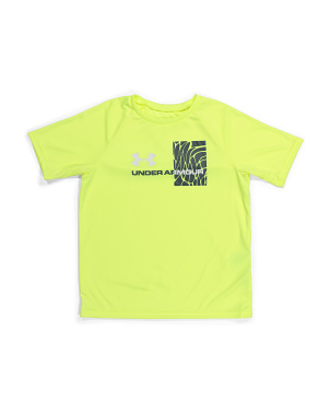 Boys Tech Splash Gradient Tee
