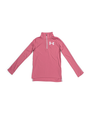 Girls Tech Half Zip Top