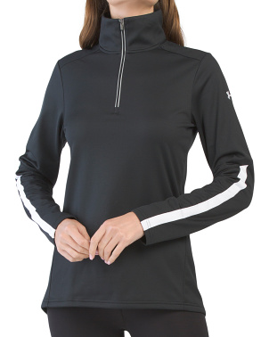 Qualifier Corp Quarter Zip Top
