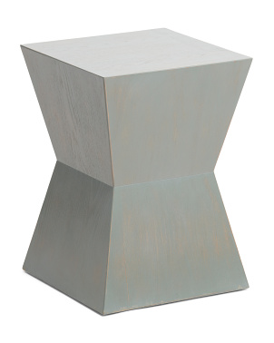 Lotem Curved Square Top Accent Table