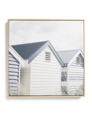 18x18 Beach Cottages Wall Art