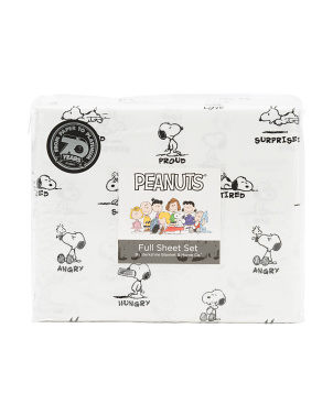 Snoopy Body Language Sheet Set