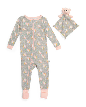 Infant Girl Unicorn Coveralls
