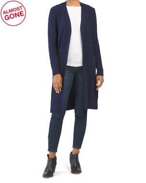 Juniors Long Cardigan