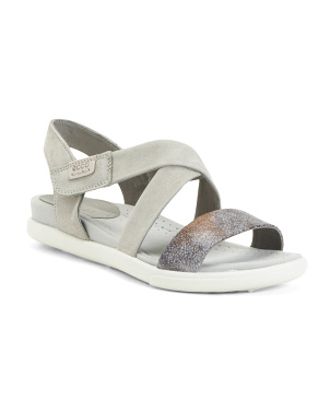 Comfort Flat Leather Sandals