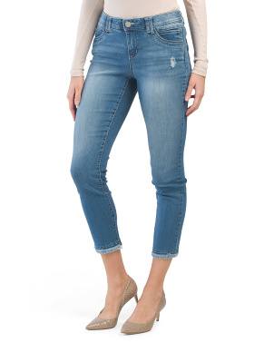 High Rise Ab Technology Ankle Jeans