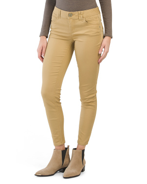 Colored Ab Technology Ankle Jeans