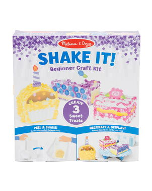 Deluxe Sweet Treats Shake It Beginner Craft Kit