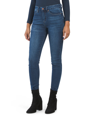 High Rise Slimming Skinny Jeans