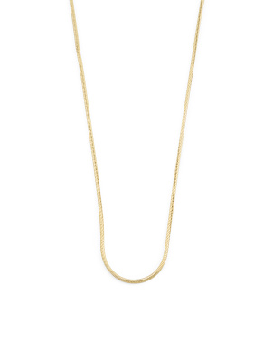 Made In Turkey 14k Gold Snake Chain Necklace