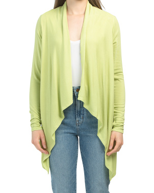 Knit Draped Cardigan