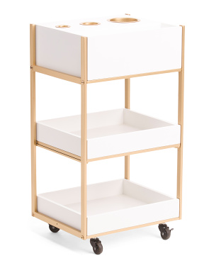 Storage Cart With Usb
