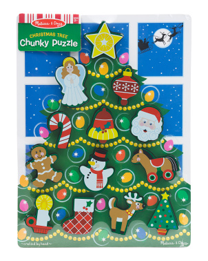 Holiday Tree Chunky Puzzle