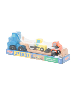 Low Loader Vehicle Play Set