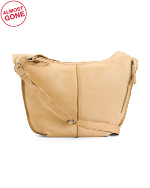 Leather Amalia Hobo