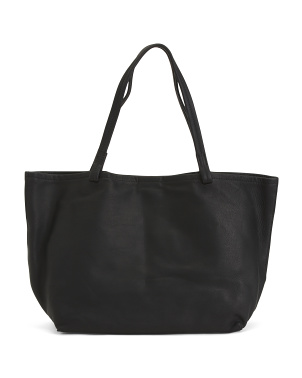 Leather Avery Tote