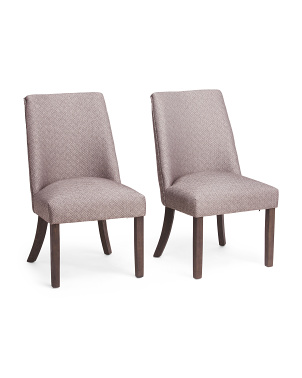 Set Of 2 Evelina Dining Chairs