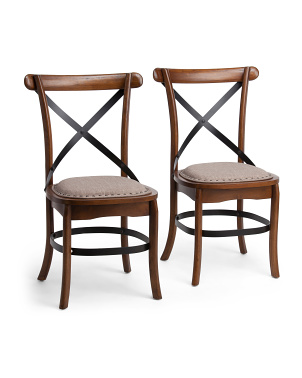 Set Of 2 Alesi Dining Chairs