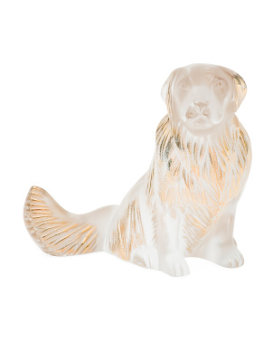 Handcrafted In France Golden Retriever Figurine