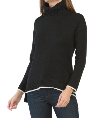 Loft Wool Blend Tunic Sweater