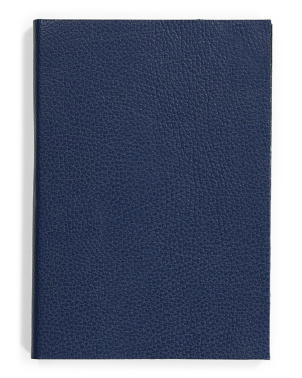 Jean A5 Leather Notebook