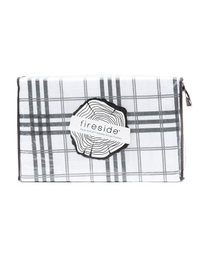 Tile Plaid Flannel Sheet Set