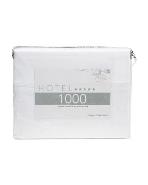 1000tc Solid Sheet Set