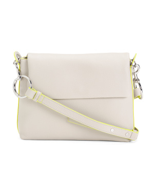 Tumble Leather Crossbody