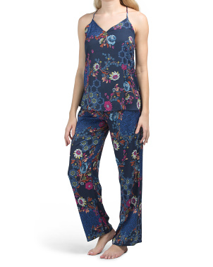 2pc Orion Siesta Camisole And Pants Pj Set