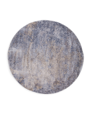 Made In Turkey 5x5 Contemporary Round Rug