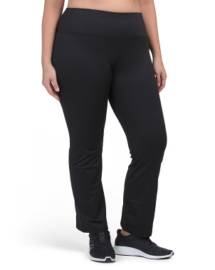 Plus Brushed Tummy Control Leggings