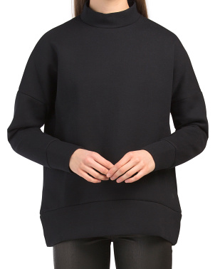 Lounge Mock Neck Tunic