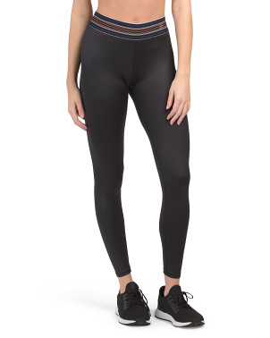 High Waist Core Ankle Leggings