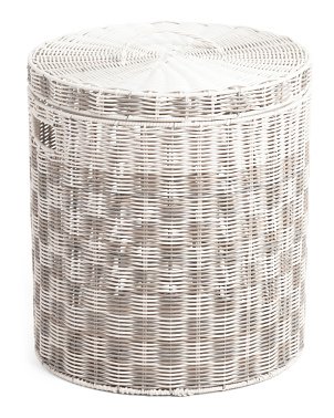 Large Da Nang Lidded Hamper
