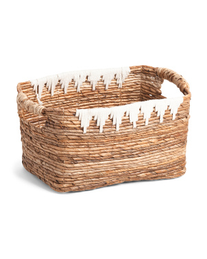 Medium Rectangular Banana Laundry Basket
