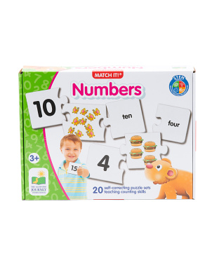 Match It Numbers Puzzles