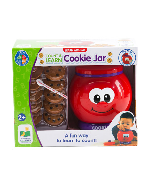 Learn With Me Count And Learn Cookie Jar