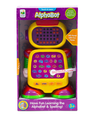 Touch & Learn Alphabot